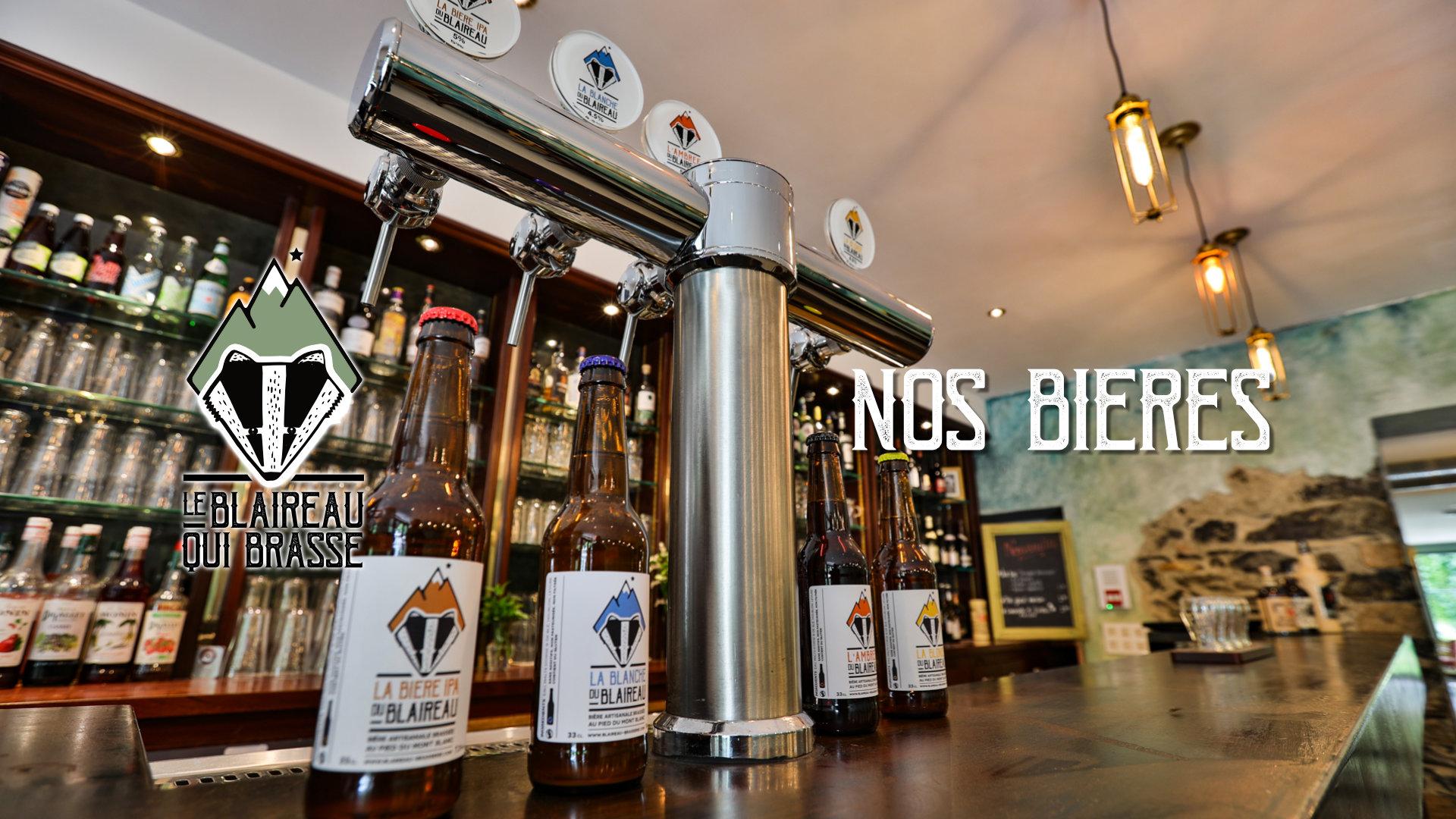 Les bières du Blaireau